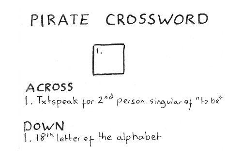 289 – Pirate Crossword