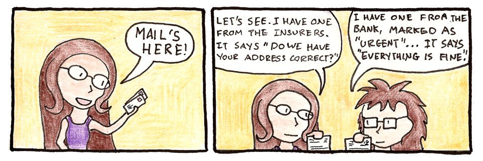 294 – Housebuying comics – Letters