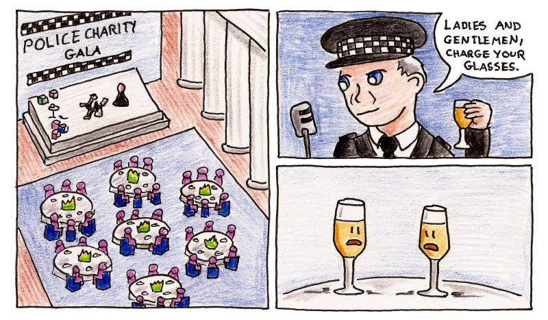 Constable... read him the wine list.