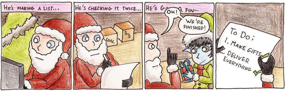 ...Santa Claus is letting you down...