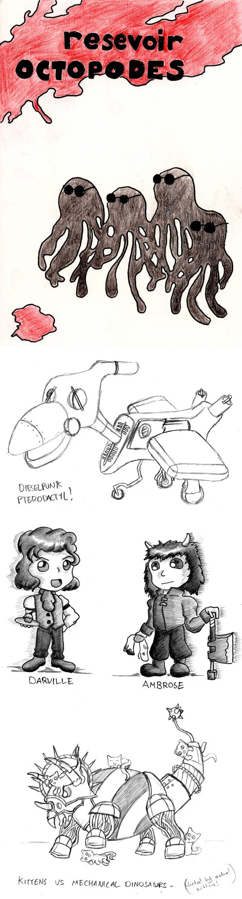 2013 Festive Sketches