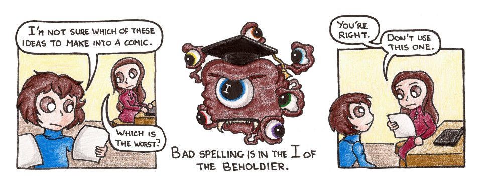 625 – Spelling Be-holder