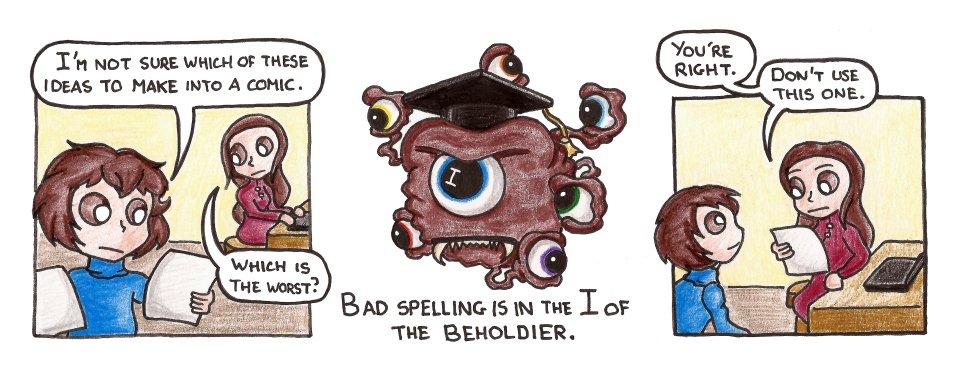 625 – Spelling Be-holder