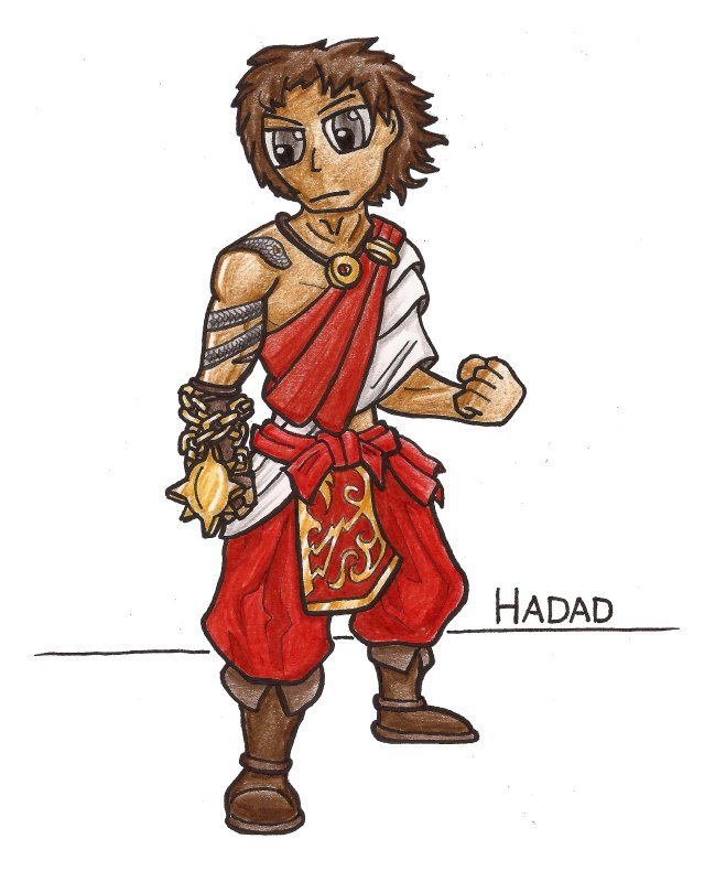 661 – Priest-king Hadad