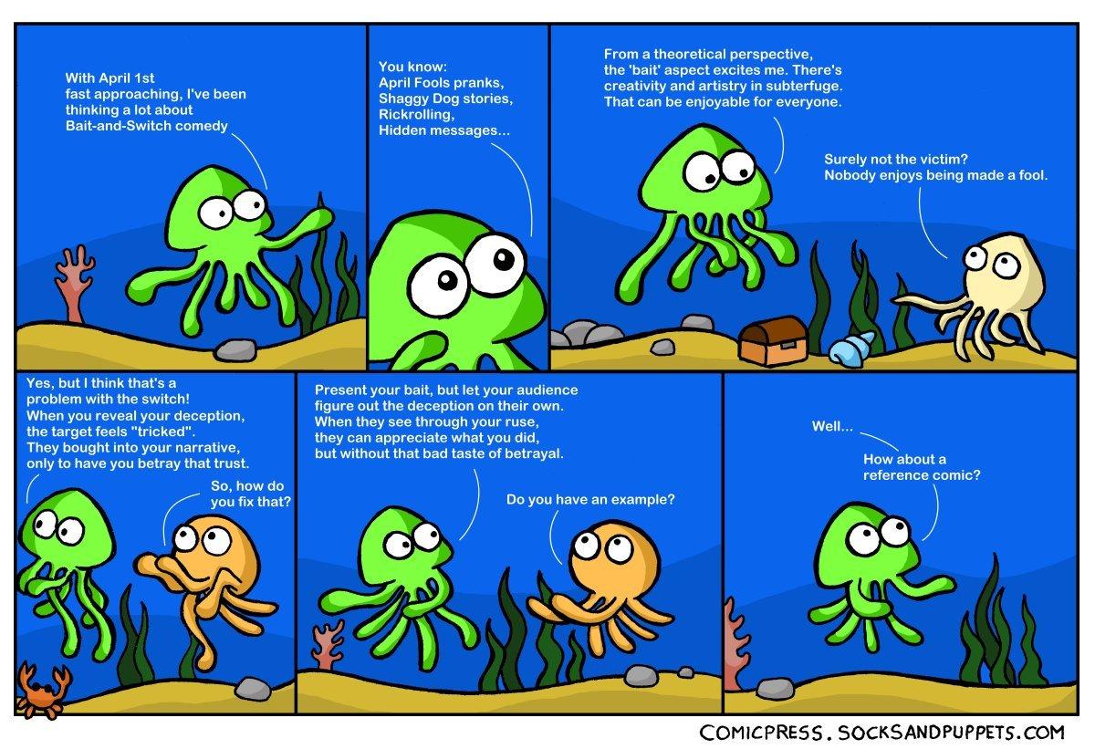 736 – Bait and Squids