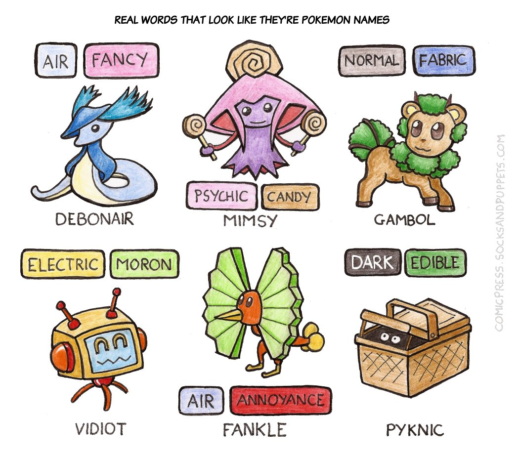742 – Pokemon Words