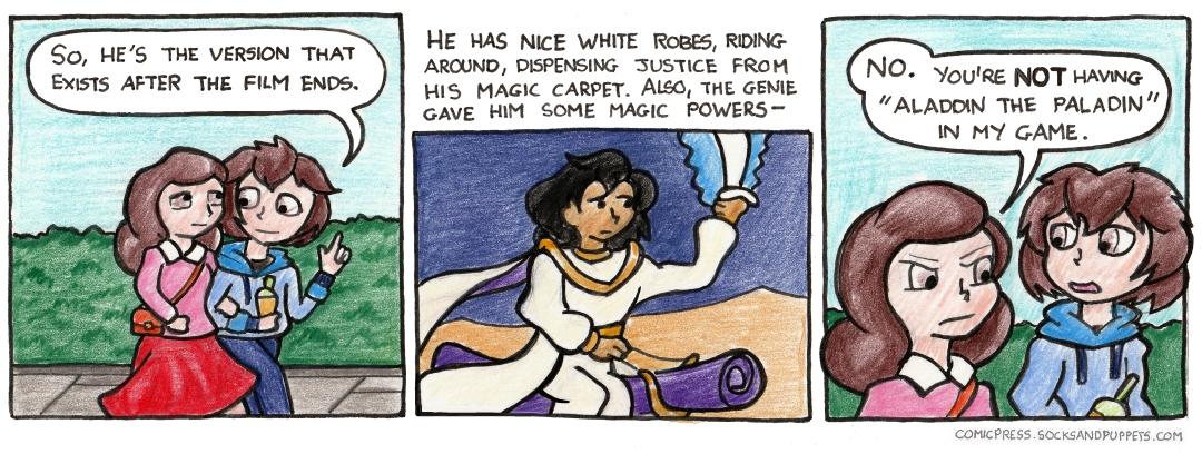 819 – Arabian Knights